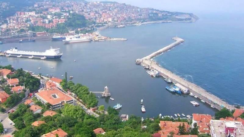 Новая паромная линия между Россией и Турцией