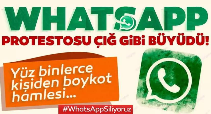 Турки массово уходят из Whatsapp