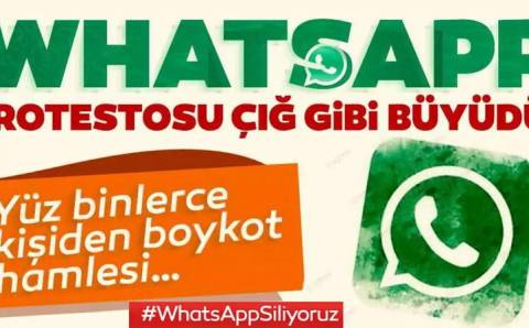 Турки массово уходят из Whatsapp