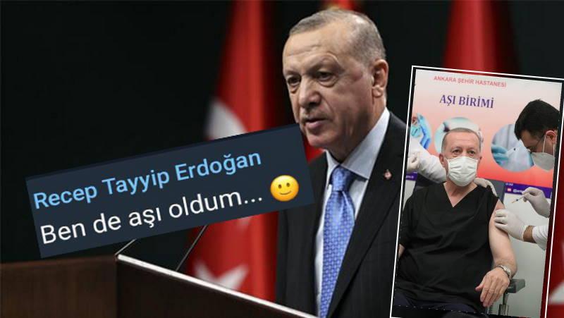 Эрдоган вакцинировался от коронавируса