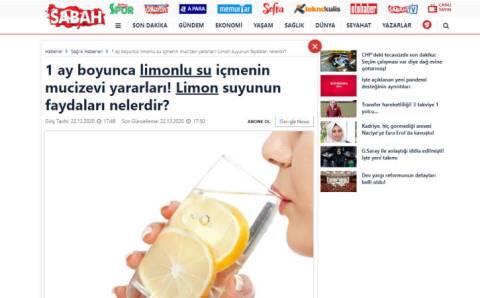 Чудодейственная польза после месяца употребления воды с лимоном