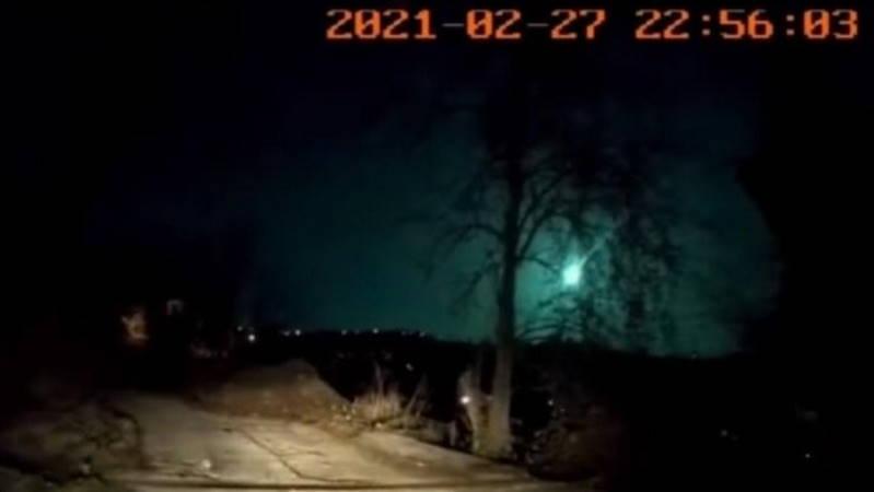 Метеор осветил небо сразу над 10 провинциями
