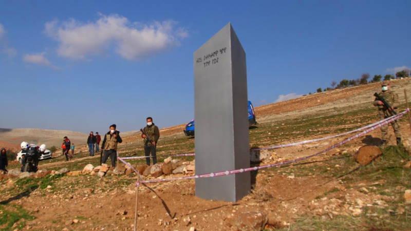 Очередной загадочный монолит появился в Турции