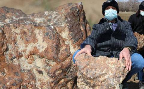 Житель Чорума продал камень с поля за $180 000