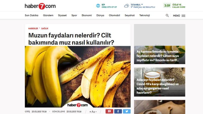 Как банан используется для ухода за кожей?