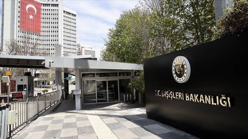 МИД Турции вызвал посла России