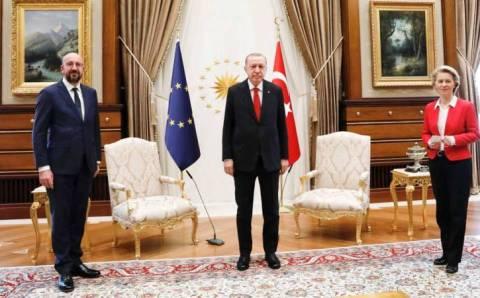 Эрдоган встретился с главами Евросоюза и Еврокомиссии