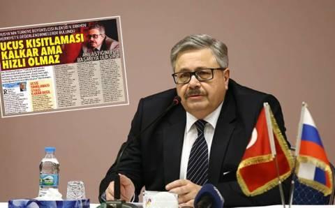 Посол РФ Ерхов: «Хороших новостей в сфере туризма придется ждать»