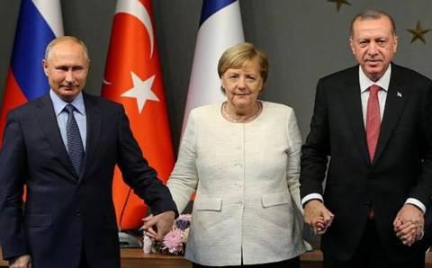 «Туристический поток»: Эрдоган переговорил с Путиным и Меркель