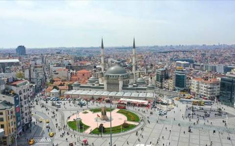 Мечеть Таксим открыла свои двери для верующих