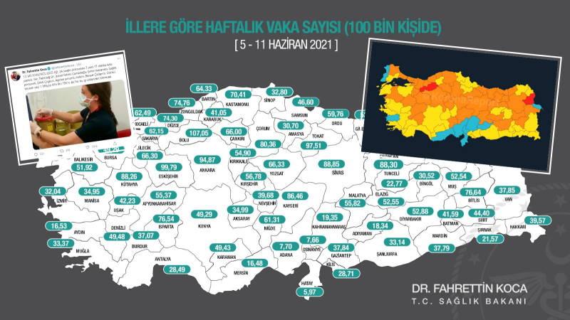 Две «красных» провинции и новый рекорд вакцинации