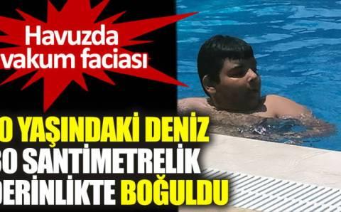 Смерть 10-летнего Дениза потрясла Адану
