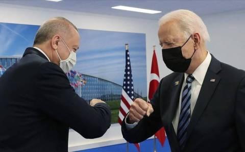 Эрдоган и Байден провели переговоры в Брюсселе