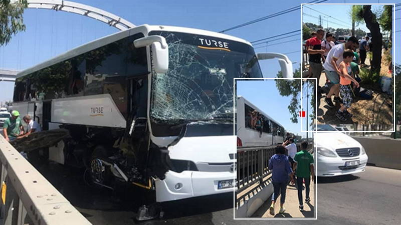 Автобус с российскими туристами попал в ДТП в Анталии