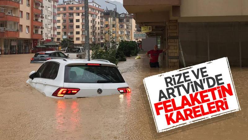 Наводнение и сель в Артвине: 1 пропавший без вести