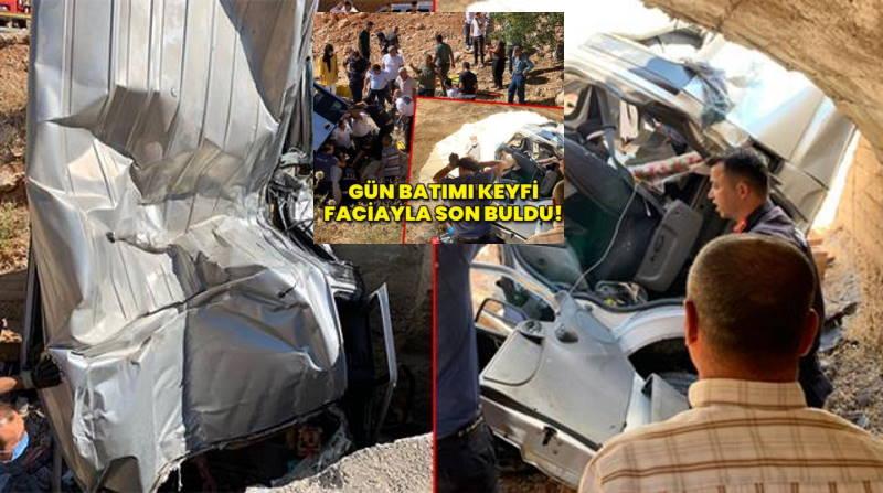 Поездка в горы завершилась аварией: 2 погибших, 5 пострадавших