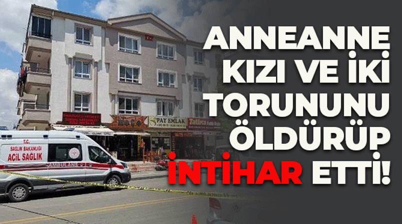 Бабушка застрелила дочь и внуков в Анкаре