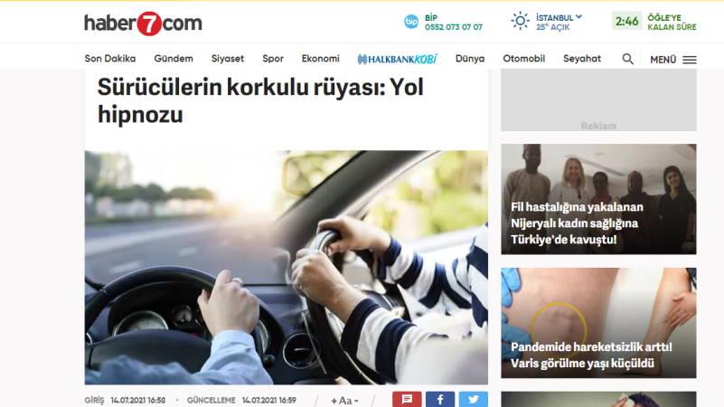 Страшный сон водителей: дорожный гипноз