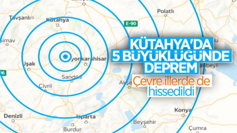 Кютахью потрясло 5-балльное землетрясение