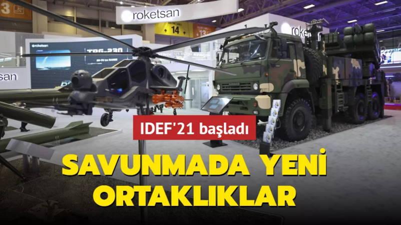 В Стамбуле стартовала оборонная выставка IDEF-2021