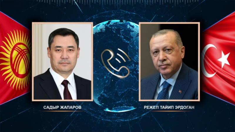 Эрдоган переговорил с лидерами ОАЭ и Кыргызстана