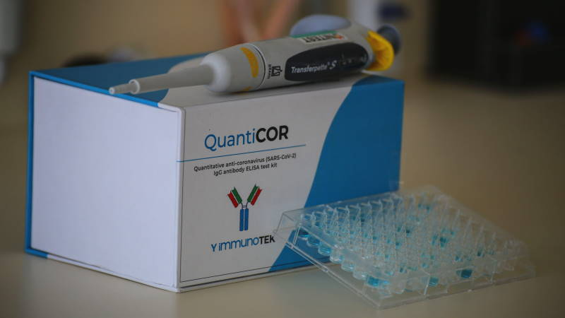 Quanticor: Первый турецкий тест на антитела
