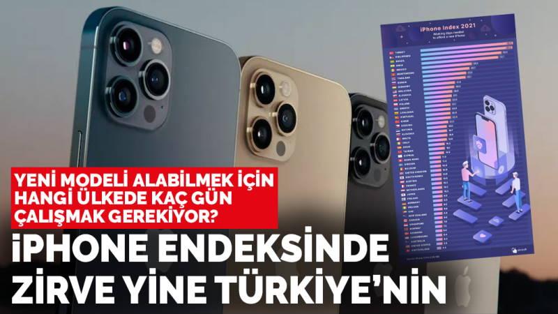 Жителю Турции нужно работать 92 дня на новый iPhone 13