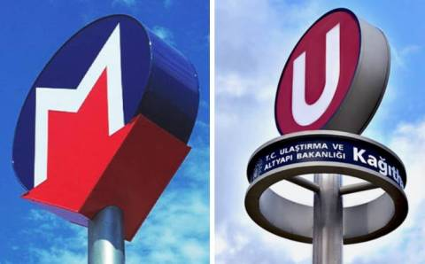 Новый логотип метро Стамбула вызвал споры