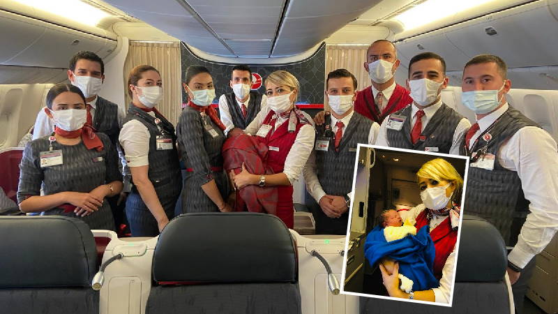 «Безбилетный пассажир» Turkish Airlines появился на высоте 10 000 метров