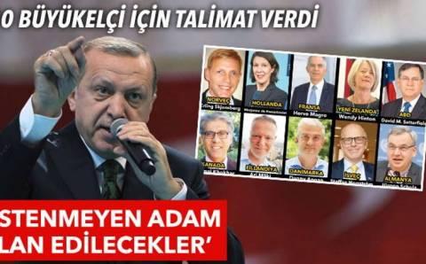 Высылка 10 послов: Блеф Эрдогана или разрыв отношений с Западом?