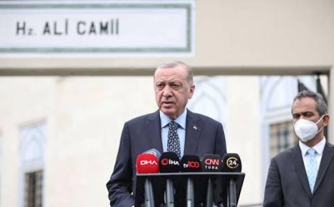 Эрдоган заявил о «другой борьбе» в Сирии