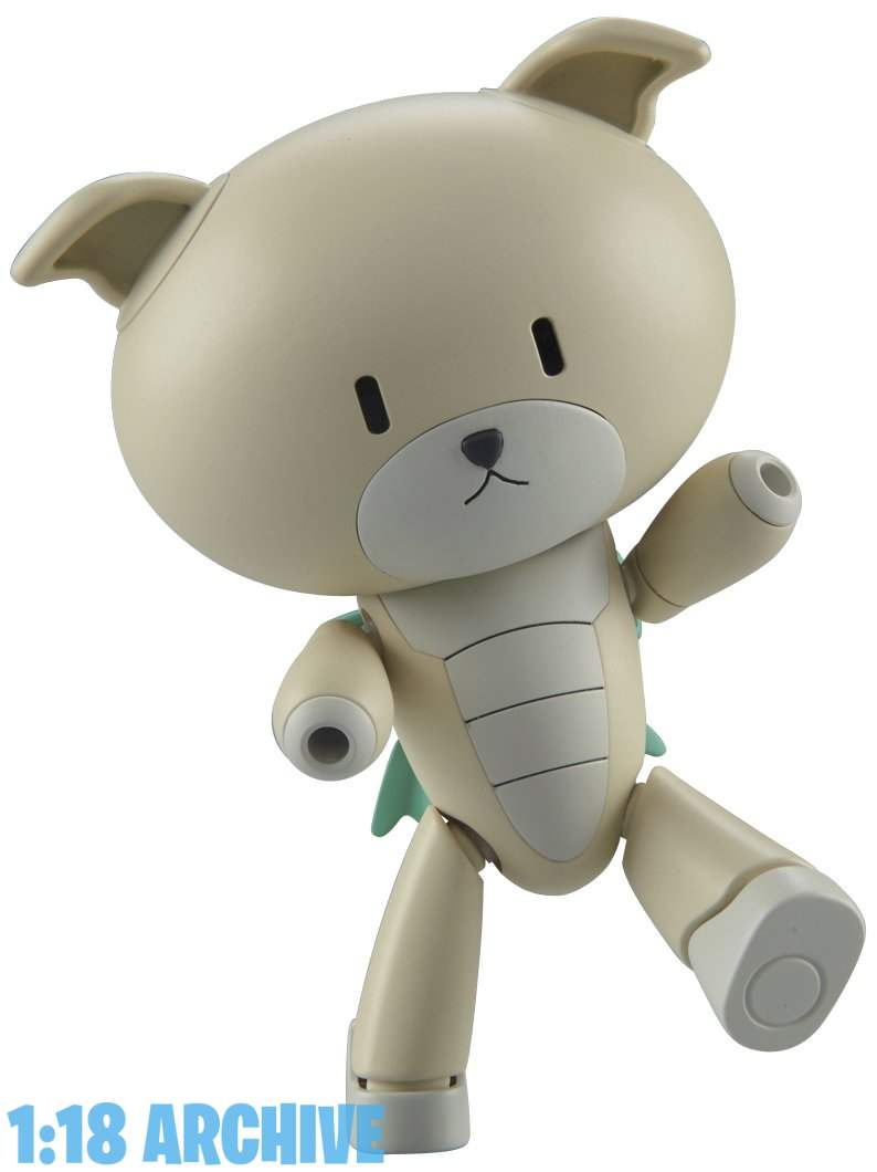 1:18 Action Figure Archive Droid of the Day Reviews Checklist Guide Bandai Gundam Build Fighters Model Kits Bearguy Petit'gguy