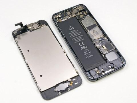 iPhone5分解スタート