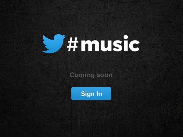 Twitter Music公式サイト Coming soon