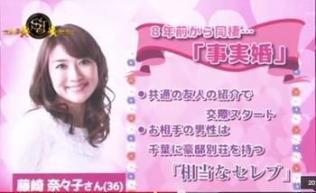 藤崎奈々子テレビ