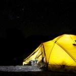 災害の時の避難のための持ち物としてキャンプ道具が有効と考えた