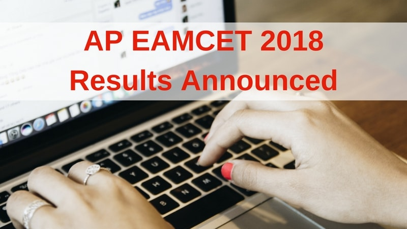 AP EAMCET 2018 Result Declared, Check Now @ sche