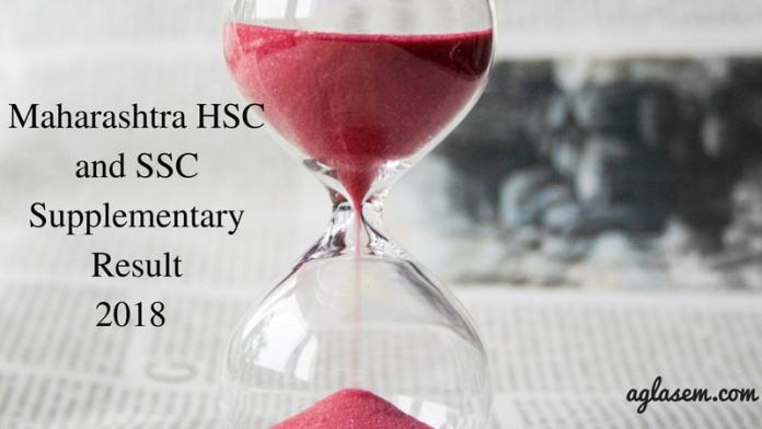 Maharashtra HSC and SSC Supplementary Result 2018