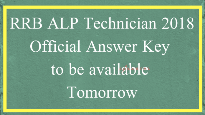 RRB ALP Technician 2018 Official Answer Key