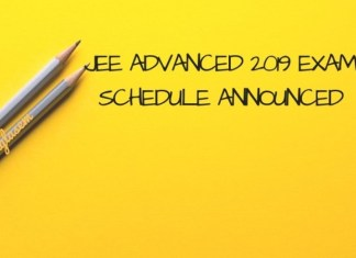 JEE Advanced 2019 Exam Schedule