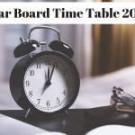 Bihar Board Time Table 2019-min