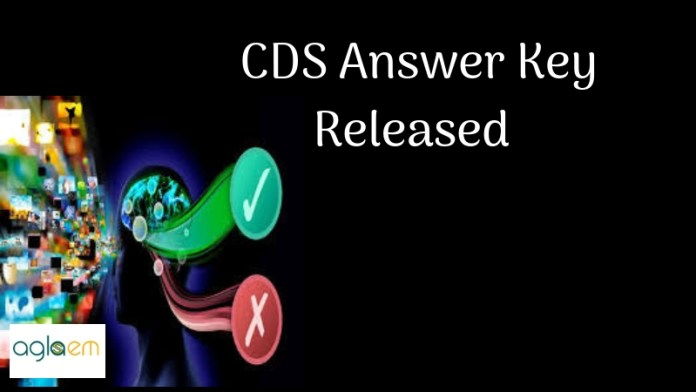 CDS-Answer-Key-Released