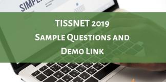 TISSNET 2019 Sample Questions and Demo Link Available