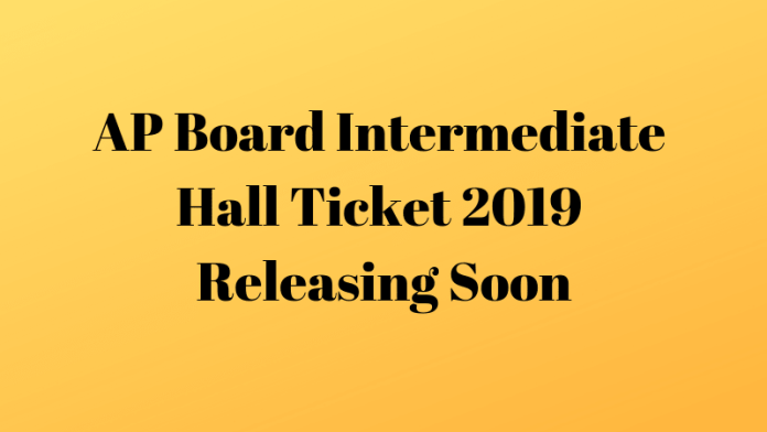 AP Board Intermediate Hall Ticket 2019 Releasing Soon