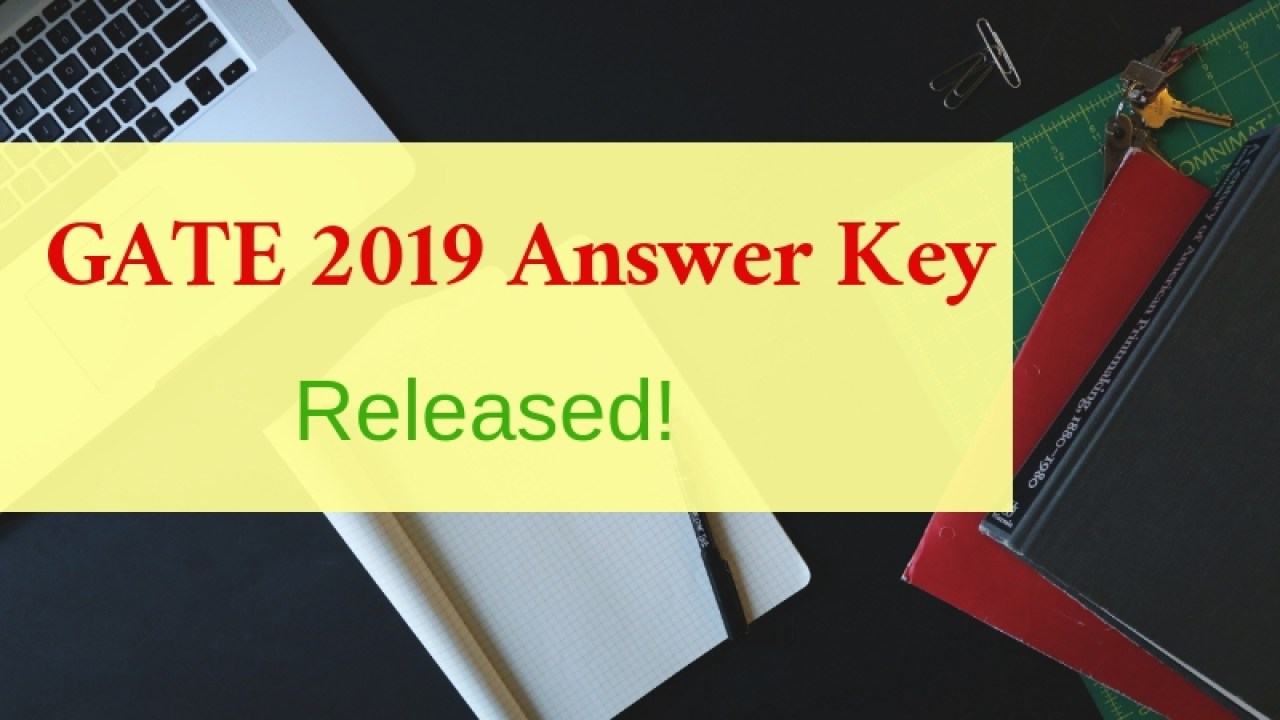 Image result for GATE answer key 2019