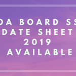 Goa Board SSC Date Sheet 2019 Available