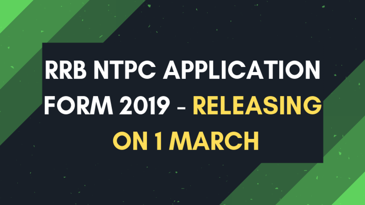 Image result for RRB NTPC 2019 application will start today