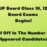 UP Board Class 10, 12 Board Exams Begins Fall Off In The Number Of Appeared Candidates