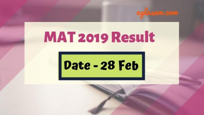 MAT Result 2019 Releasing on 28 Feb