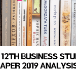 CBSE 12th Business Studies Paper 2019 Analysis